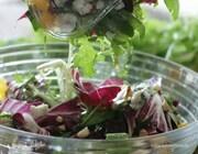 Салат с миндалем и рокфором