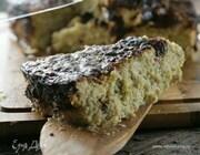Пирог из кабачков с мятой