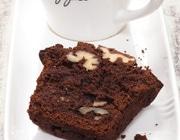 Шоколадные кексы с грецкими орехами
