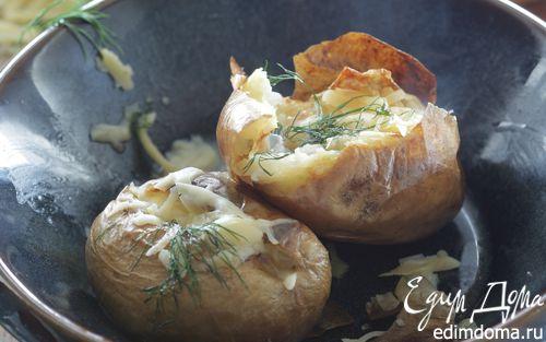 Рецепт Запеченный картофель с сыром