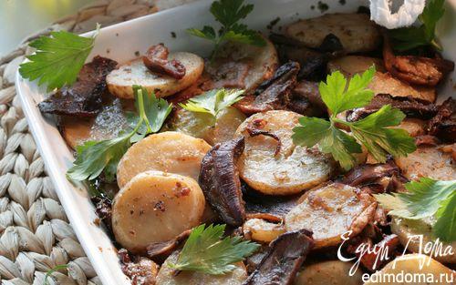 Рецепт Картошка с грибами