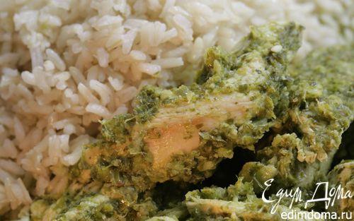 Рецепт Зеленое карри с курицей