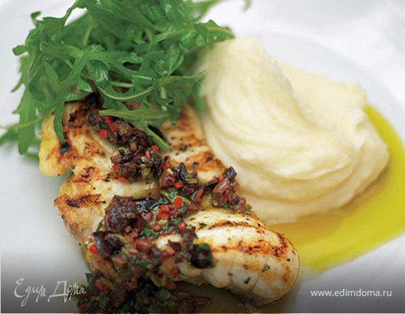 Рыба в сырно-сливочном соусе