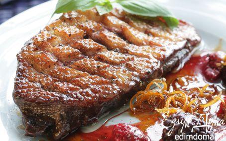Рецепт Филе утки в ягодно-медовом соусе