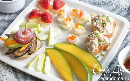 Рецепт Тосты с овощами