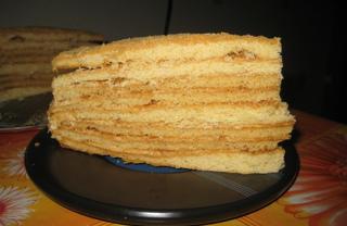 Рецепт Торт «Медовик»