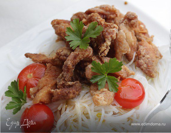 Куриная грудка на вьетнамский манер