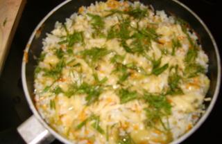 Рецепт Ризотто с овощами и сыром