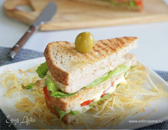 Сэндвичи с картофелем пай