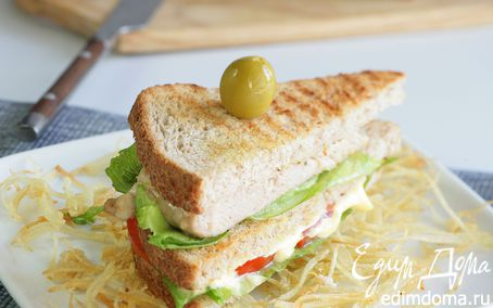 Рецепт Сэндвичи с картофелем пай