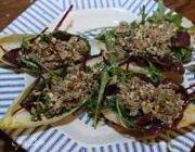 Салат со шпротами и цикорием