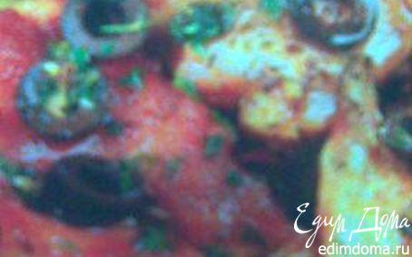 Рецепт Кролик с оливками и чесноком