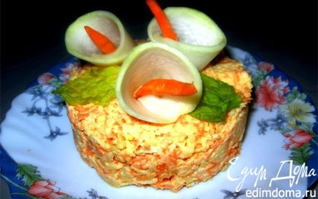 Рецепт салат из редьки