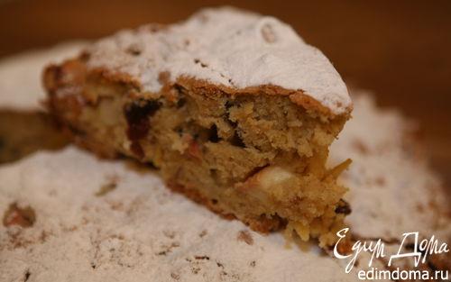 Рецепт Яблочный пирог с изюмом