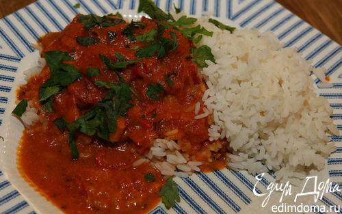 Рецепт Карри из помидоров с рисом
