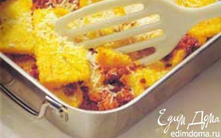 Рецепт Polenta pasticciata - Полента с мясным фаршем