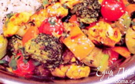 Рецепт «Индийское овощное рагу»