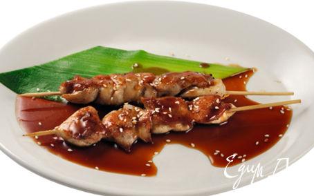Рецепт Курица под соусом терияки