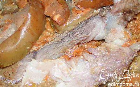 Рецепт Свинина с яблоками
