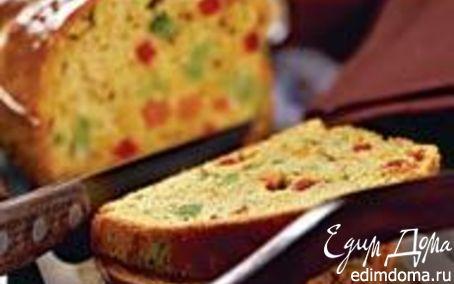 Рецепт Цветной хлеб с овощами