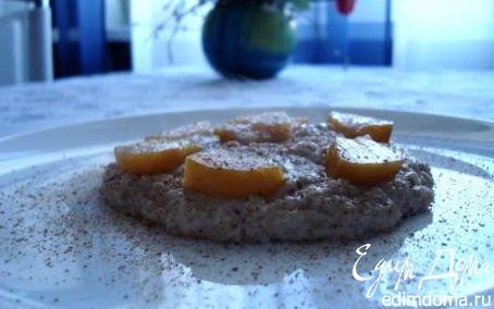 Рецепт Овсянка с пряностями и фруктами
