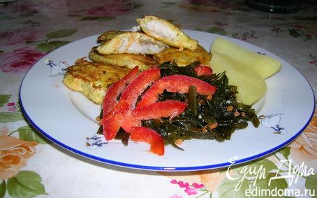 Рецепт Рыба в кляре из брынзы и моркови