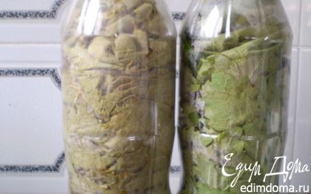 Рецепт Заготовка виноградных листьев для долмы