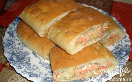 Рецепт Обычный пирог с рыбой