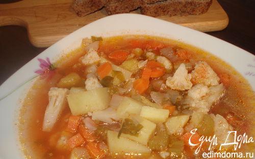 Рецепт Супчик овощной