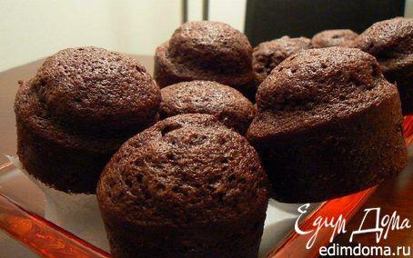 Рецепт Шоколадные маффины с цукини