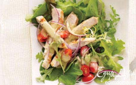 Рецепт Зеленые и свежие