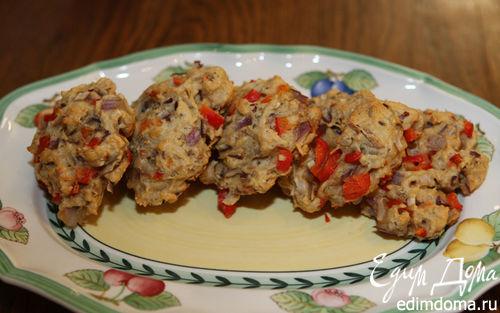 Рецепт Луковые булочки со сладким перцем
