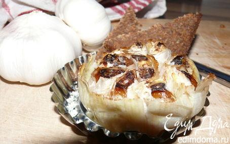 Рецепт Запеченный чеснок (тапас)