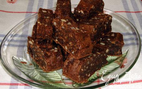 Рецепт Брауни с орехами кешью