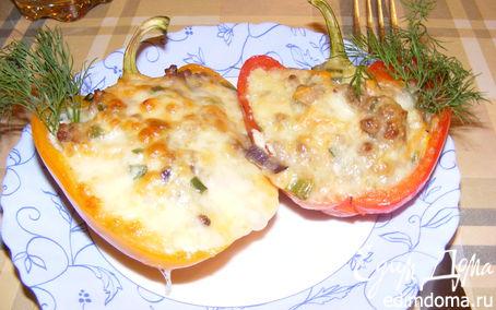 Рецепт перцы с моцареллой