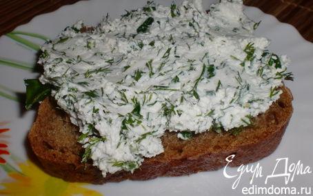 Рецепт Творог с зеленью