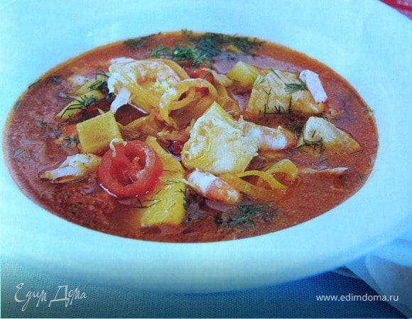 Рыбный суп с шафраном