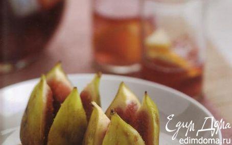 Рецепт Инжир на гриле с рикоттой и медом