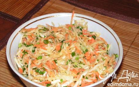 Рецепт Салат с сельдереем и морковью