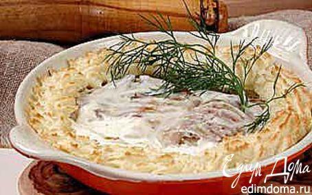Рецепт Рыба, запеченная под соусом