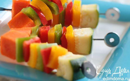 Рецепт Овощные кебабы