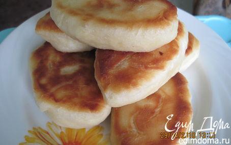 Рецепт Дрожжевое тесто для жареных пирожков
