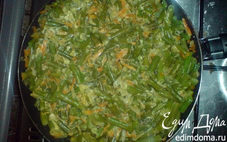 Рецепт Тушеная фасоль