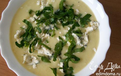 Рецепт Суп-пюре из сельдерея с сыром