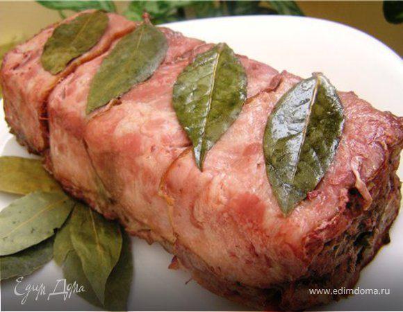 Как приготовить ветчину из говядины в домашних условиях