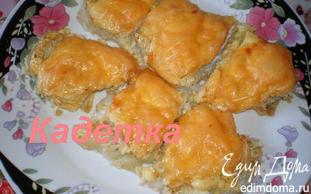 Рецепт Рыба, запеченная под сыром