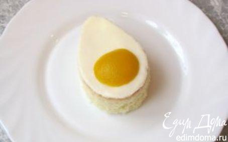"""Рецепт Пирожное """"Пасхальные яйца"""""""