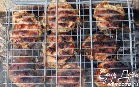Рецепт Шашлык из куриных бедрышек⎝⏠⏝⏠⎠