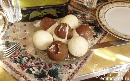 Рецепт Творожно-шоколадные яйца