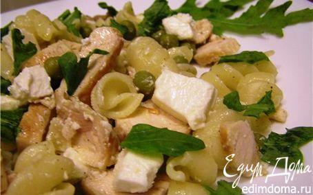 Рецепт Средизерноморский салат с жареной курицей